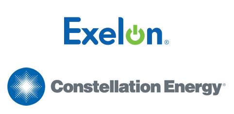 exelon constellation logos