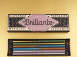 VIBRANT ITALIAN-INSPIRED PACKAGING FOR LOUISE FILI BRILLANTE PENCILS