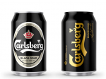 啤酒包装设计Check Out the Sexy New Look of Carlsberg Black Gold